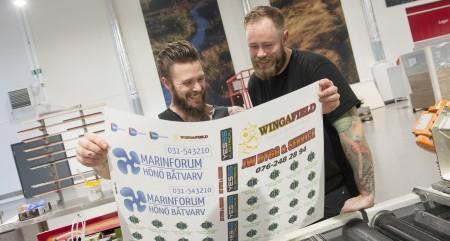 Daniel Sällström och Christoffer Berntsson