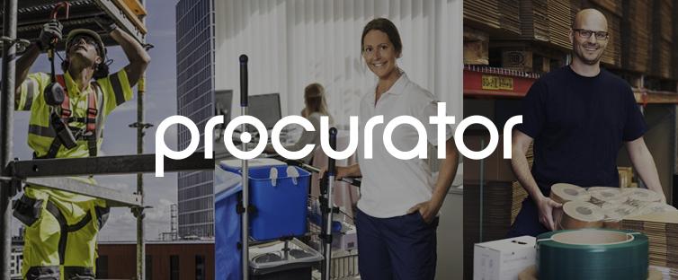 Procurator – uusi yhteistyökumppani!